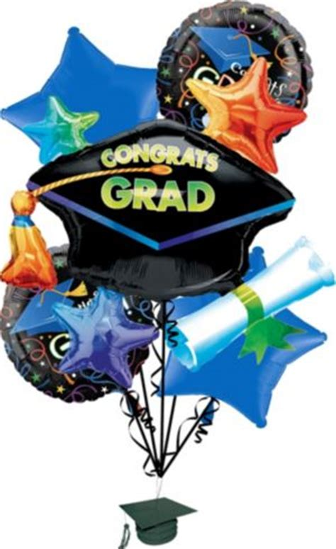 graduation balloon bouquet pc grad celebration party