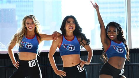 titans cheerleaders final dance audition