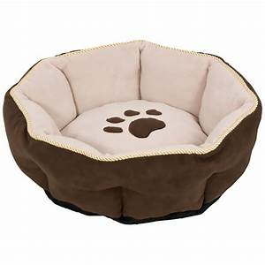 aspen pet sculptured round bed 18quot With best round dog beds