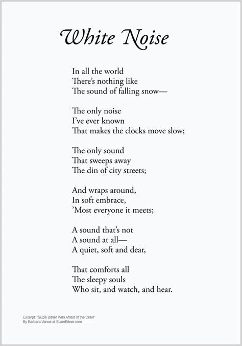 white poems