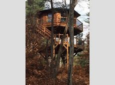 Unique Treehouse Nestled In The Forest Of The VRBO