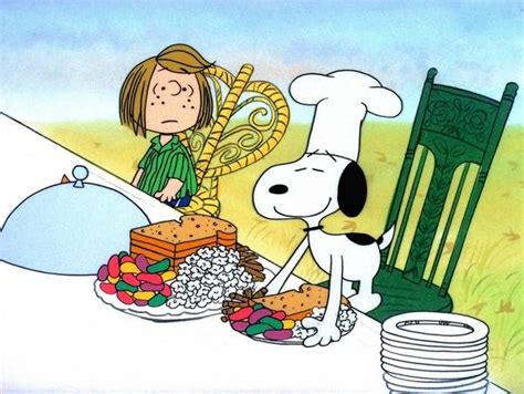 charlie brown thanksgiving table the recipe for 39 a charlie brown thanksgiving 39 latimes