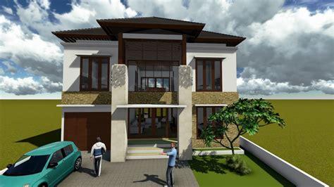 contoh desain rumah minimalis  lantai terbaru