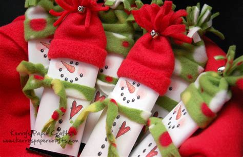 Cute Snowman Candy Bar Wrappers Pictures, Photos, And