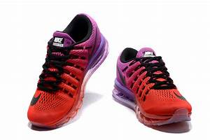 low priced 24463 97e52 basket femme nike air max femme air max 2016 rouge et violet soldes