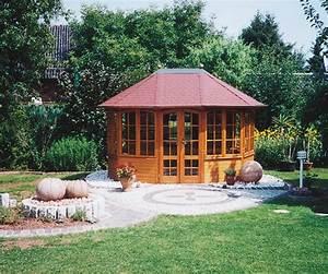 Gartenpavillon Holz Geschlossen : gartenlaube grilllaube und pavillon aus holz geschlossen sunrise 10eck 1 kaufen ~ Whattoseeinmadrid.com Haus und Dekorationen