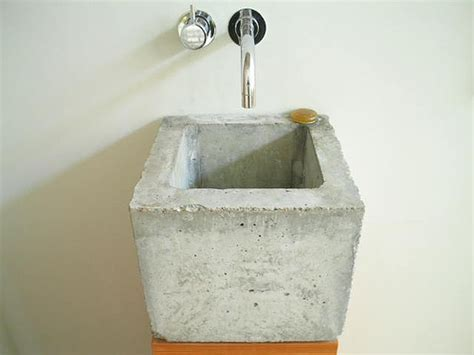 how to make a cement sink concrete sink muehlhaus sink designed by www