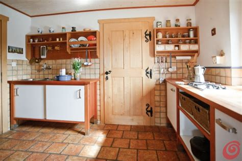 cucina rustica  una casa  montagna casa  trend