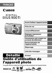 Multimetre Digital Mode D Emploi : mode d 39 emploi canon digital ixus 900 ti appareil photo ~ Dailycaller-alerts.com Idées de Décoration