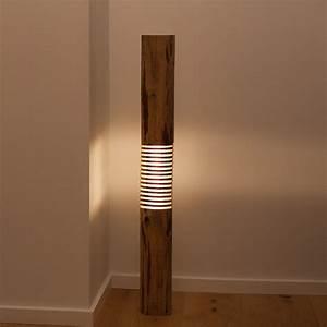 Designer Stehlampen Holz : lampen holz haus ideen ~ Indierocktalk.com Haus und Dekorationen