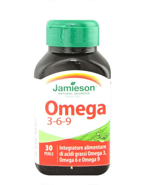 omega 3 e 6 alimenti omega 3 6 9 di jamieson 30 perle