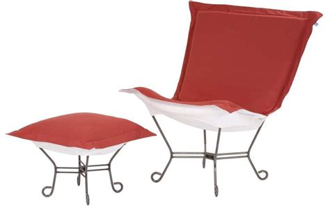 chicago textile puff chair starboard punch patio