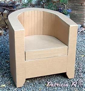 Meuble En Carton Design : tr ne en carton autres styles du fauteuil cabriolet ~ Melissatoandfro.com Idées de Décoration
