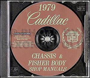1979 Cadillac Shop Manual And Body Repair Cd Deville