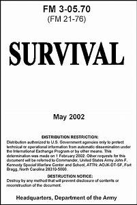 Us Army Survival Guide  2002