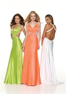 Most Revealing Prom Dress