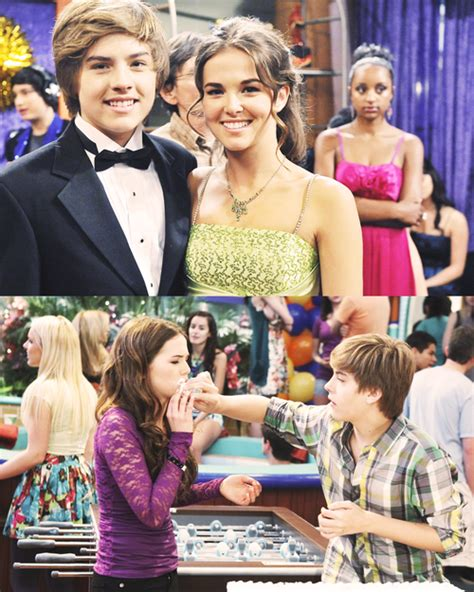 zoey as maya bennett in the suite life on deck zack and