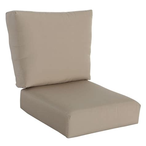 hton bay patio chair replacement cushions hton bay mill valley solid lounge chair outdoor