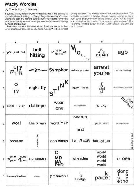 rebus puzzles worksheet homeschooldressage