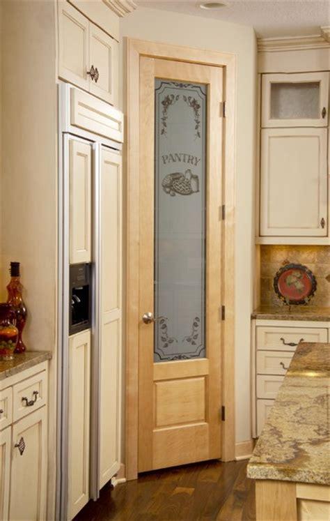 birch pantry door  panel  traditional
