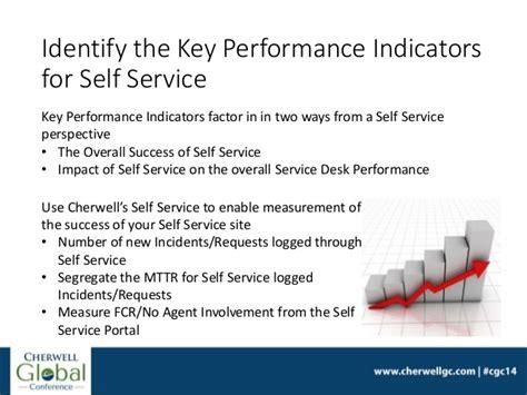 service desk key performance indicators using self service to drive productivity