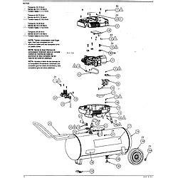 kobalt coleman model 215902 air compressor genuine parts