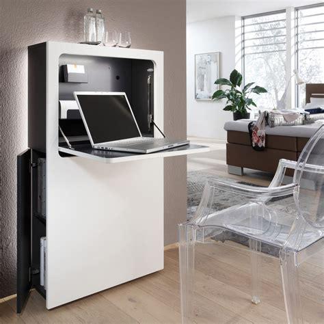 Moderner Sekretär Schreibtisch by Der Moderne Und Schmale Sekret 228 R In Wei 223 Oder Schwarz Ist