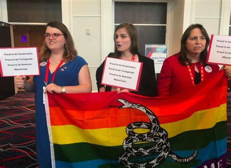 transgender activists  cpac  conservativestoo