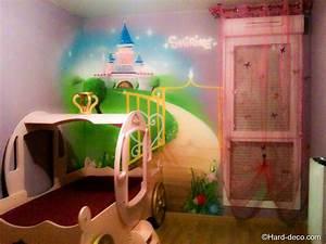 Deco Chambre Fille Princesse : chambre princesse ~ Teatrodelosmanantiales.com Idées de Décoration