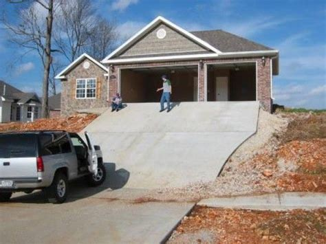 Wow That's A Steep Driveway!  └┤ Design Bug Pinterest
