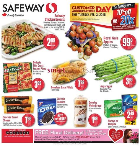 Safeway Flyer January 30 to February 5