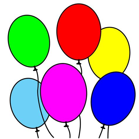 palloncini clipart pin disegno torta di compleanno da colorare donna e casa
