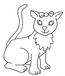 Cat with Big Eyes Drawings