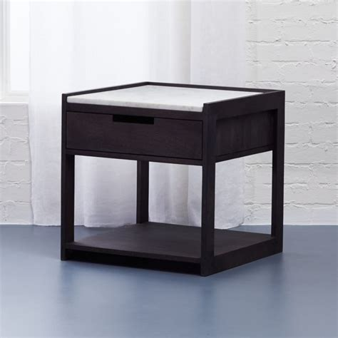 Cb2 Nightstand by Tux Marble Top Nightstand Cb2