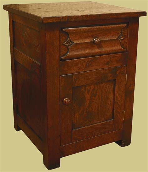carved oak bedroom furniture oak bedside cabinet carved parchemin drawer