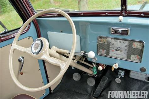 willys jeep truck interior 1948 willys overland jeep truck dash jeep pinterest