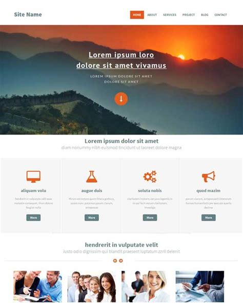 Free Bootstrap Website Templates by Bootstrap Website Templates Learnhowtoloseweight Net