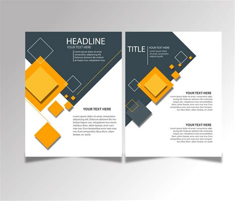 Brochure Templates by Free Brochure Design Templates Ai Files
