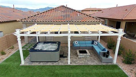 patio cover plans pergolavsawning pergola  awning