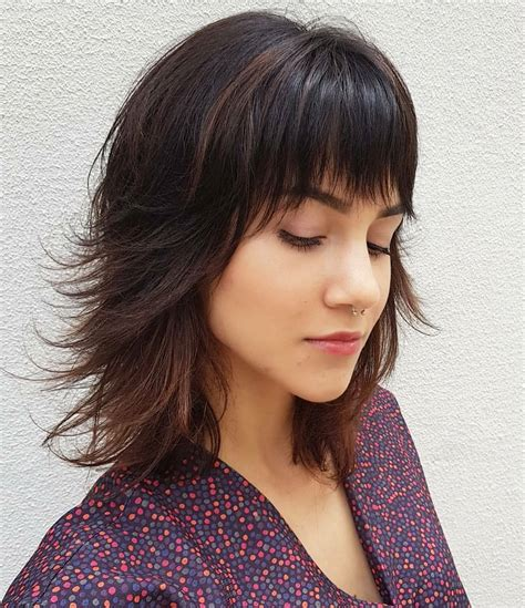 and easy shoulder length medium haircut cool