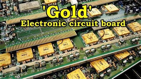 Gold Recycle Home From Electronic Circuit Board Scrap