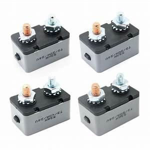 6 28v 20a 30a 40a 50a Circuit Breaker Stud Type Manual