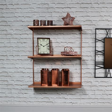 Metal Boat Wall Shelf by Copper Metal Wall Shelves Melody Maison 174