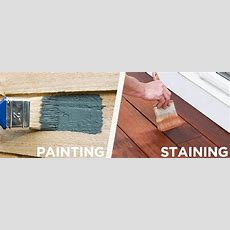 Painting Vs Staining  Why To Stain  Staining Center