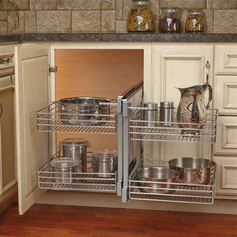 rev  shelf kitchen blind corner cabinet optimizer
