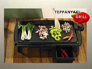 Teppan Yaki Grill : teppanyaki grill electric portable bbq non stick hot plate ebay ~ Buech-reservation.com Haus und Dekorationen