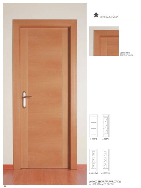 Inside Doors by Artema A1007 Beech Inside Door Bespoke Sizes