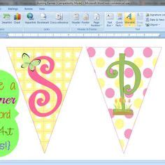 printable baby shower images printable banner