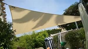 Toile Tendue Jardin : voilerie voile d 39 ombrage toile tendue clippervoiles ~ Melissatoandfro.com Idées de Décoration