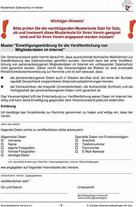 Einverständniserklärung Veröffentlichung Fotos Verein : mustertexte zum umgang mit personenbezogenen daten im ~ Themetempest.com Abrechnung